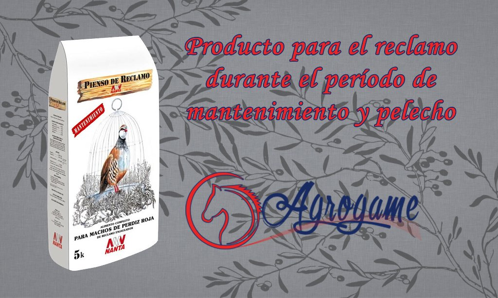 Pienso de reclamo Nanta | Piensos Nanta Badajoz